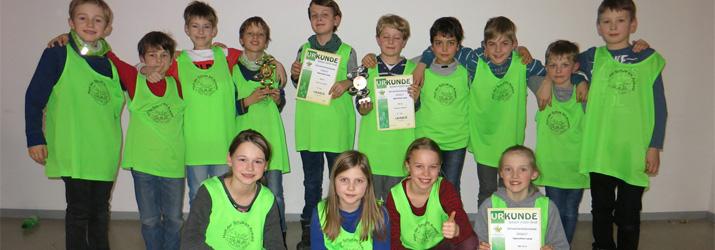 Sieger Regionalfinale Schulschach 2017 - Grundschule am Auwald